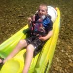 Ieuan canoeing 2014